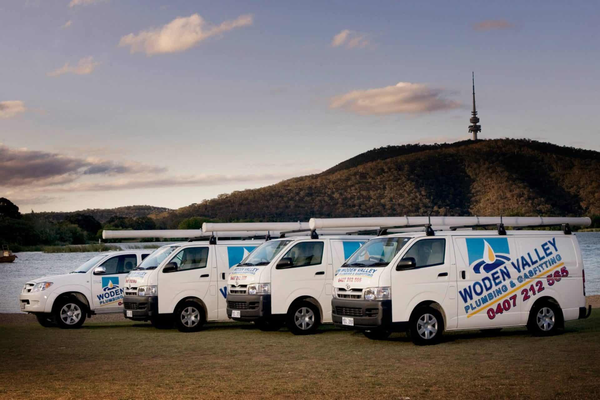 Queanbeyan plumbing vans