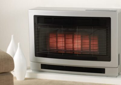 Console & Inbuilt Flame Space Heaters