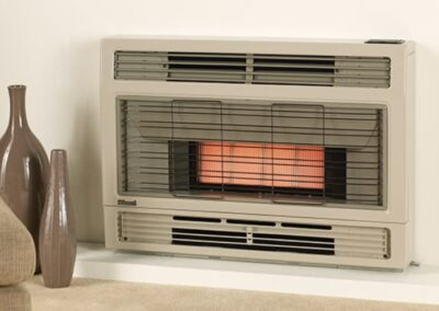 Console & Inbuilt Radiant Space Heaters